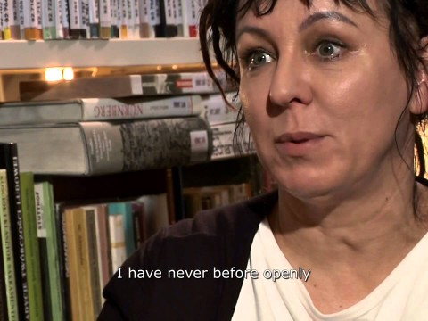 Olga Tokarczuk - Writers in Motion - Audiowizualna biblioteka pisarzy